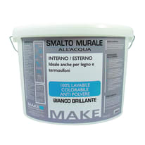 Smalto murale bianco brillante Make 4 L