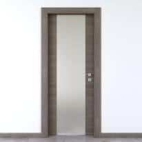 Porta da interno battente Starwood pietra 70 x H 210 cm sx