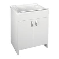 Mobile lavatoio Prix bianco L 59,2 x P  50,5 x H 84 cm