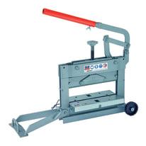 Tranciablocchi manuale Brevetti Montolit lunghezza max di taglio 41 cm, spessore max di taglio 155 mm