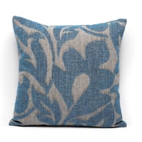 Cuscino Coachella blu retro tinta unita 45 x 45 cm