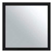 specchio da parete Milo nero 32 x 32 cm