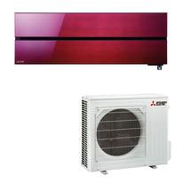 Climatizzatore fisso inverter monosplit Mitsubishi MSZ-LN50VGR Wi-Fi 18000 BTU classe A+++ rosso