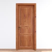 Porta da interno battente Old Town teak sbiancato 70 x H 210 cm reversibile