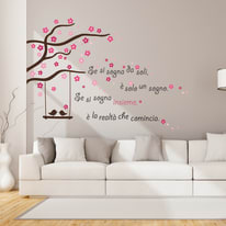 Wallsticker Words Up XXL Sognare insieme