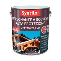 Impregnante a solvente 8 anni Syntilor noce cerata 5 L