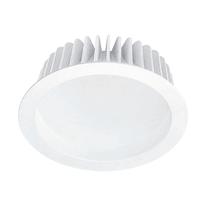 Faretto da incasso bianco LED integrato fisso rotondo Ø 23 cm 20 W = 1500 Lumen luce calda
