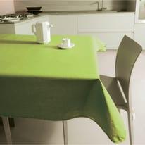 Tovaglia plastificata Monaco verde 180 x 140 cm