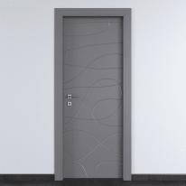 Porta da interno battente Wind Ash cenere 70 x H 210 cm dx