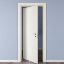 Porta da interno rototraslante Star Bianco Matrix 70 x H 210 cm sx