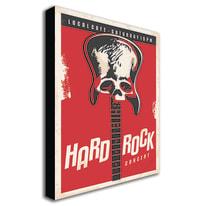 quadro su tela hard rock 24x35 24x35