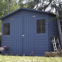 casetta in legno grezzo Bouganvillea 4,32 m², spessore 12 mm
