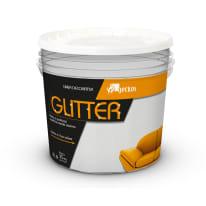 Pittura ad effetto decorativo Glitter Bianco Bianco 4 L