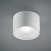 Plafoniera Cube Round d19 bianco L 19 x H 9 cm