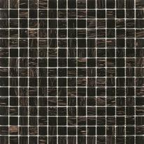 Mosaico Gold 32,7 x 32,7 cm nero