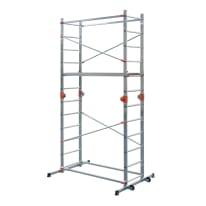 Trabattello Dexter Combi 4 in alluminio, per lavori fino a 3,9 m