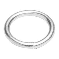 6 anelli saldati in acciaio zincato