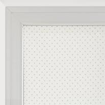 Tendina a vetro per finestra Pois panna 90 x 160 cm