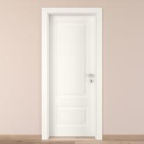 Porta da interno battente Shibuya bianco 70 x H 210 cm sx