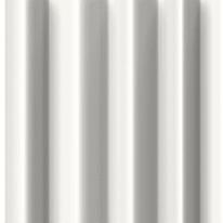 Tenda doccia Nido d'ape bianca L 180 x H 200 cm