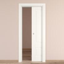 Porta da interno scorrevole Shibuya bianco 70 x H 210 cm reversibile