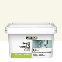 Smalto Per piastrelle Luxens Bianco Cool 3 satinato 2 L