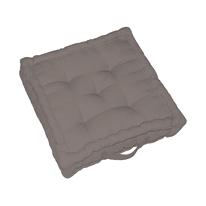 Cuscino da pavimento Elema tortora 60 x 60 cm