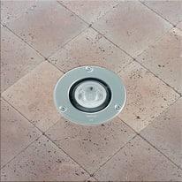 Faretto incasso per esterno a pavimento Microfloor LED Ø 12 cm IP67