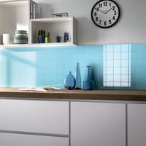 Piastrella Brillant 9,7 x 9,7 cm blu