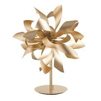 Lampada da comodino Bloom oro