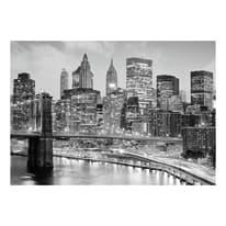 quadro su tela New York grey 95x145