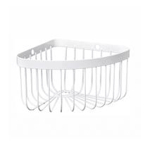 Mensola doccia angolare Neo 1 ripiano bianco