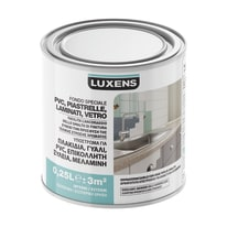 Fondo Luxens per piastrelle, pvc, laminati, vetro bianco 0,25 L