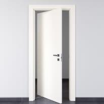 Porta da interno rototraslante Rail bianco 70 x H 210 cm sx