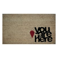 Zerbino You are here beige 40 x 70 cm