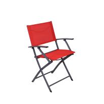 Sedia pieghevole Emys Origami rosso