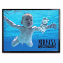 Stampa incorniciata Nirvana 30 x 40 cm
