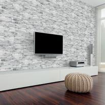 Rivestimento decorativo Helsinky Pianangolo bianco
