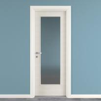 Porta da interno battente Touch bianco matrix 70 x H 210 cm reversibile