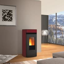 Stufa a Pellet Clemy 6 kW bordeaux