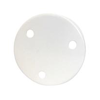Rosone per lampadari 3 fori bianco