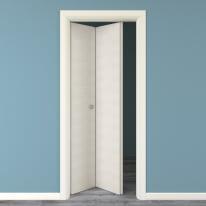 Porta da interno pieghevole Touch bianco matrix 70 x H 210 cm sx