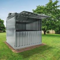 chiosco in metallo Daikiri 6,27 m², 1 ribalta