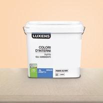 Idropittura lavabile Mano unica Arancio Arancio 6 - 4 L Luxens