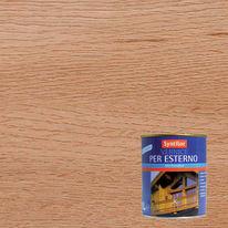 Vernice per esterno ad acqua Syntilor rovere chiaro satinato 1 L