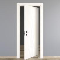 Porta da interno rototraslante Blades white bianco 80 x H 210 cm dx