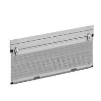 Zanzariera in kit plissettata per tapparella argento L 130 x H 160 cm, spessore telaio 50 mm
