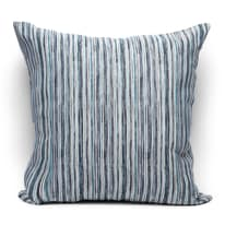 Fodera per cuscino Raya blu 60 x 60 cm