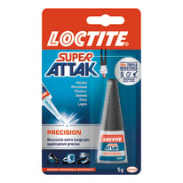 Colla istantanea precision Super Attak 5 g