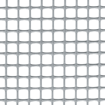 Rete Quadra 10 H 1 x L 3 m argento